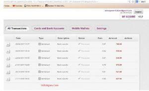 payment screen shot
